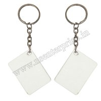 SUBLIMATION POLYMER KEYCHAIN PK-06