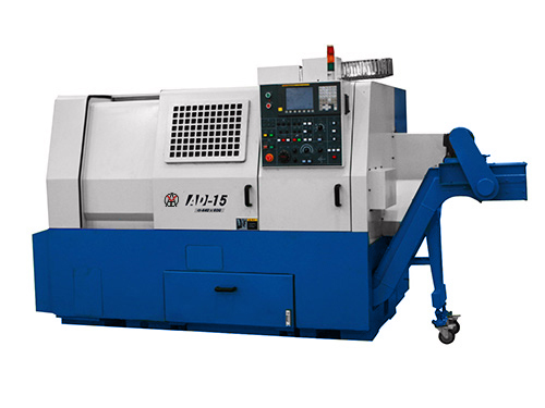 Universal cnc lathe slant bed machine with spindle bore price