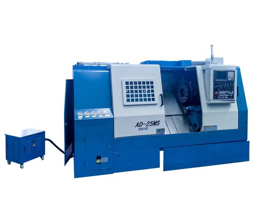 Industrial Spindle Bore 80mm slant bed CNC Lathe Screw Machine For Metal Working