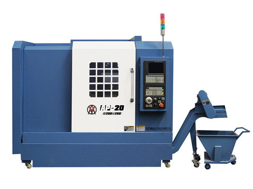 Best brand full function slant bed lathe machine from China