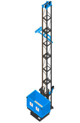 Multi-Functional Material Hoist