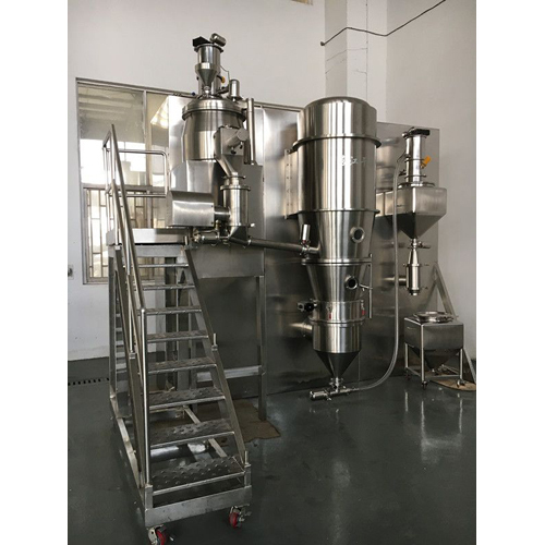 Vibratory Fluid Bed Dryer