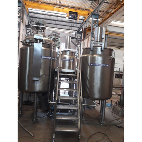 Industrial Ointment Manufacture Plant