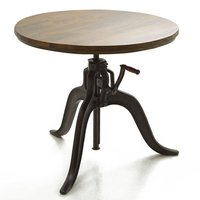 CRANK ROUND TOP DIN TABLE