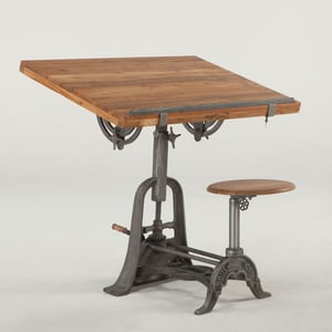 Drafting Table With Stool