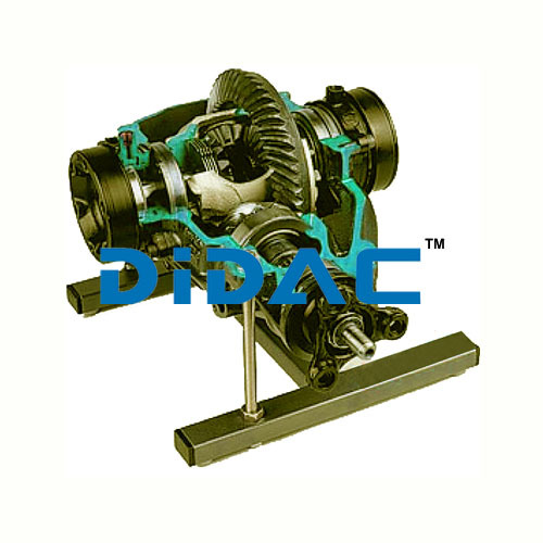 Differential With Lock ASR