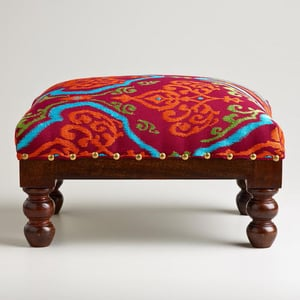 Upholstered Low Seat