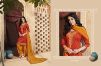 Unstitched Ladies Embroidered Suits