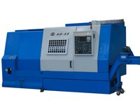 Horizontal lathe machine cnc slant bed with best service