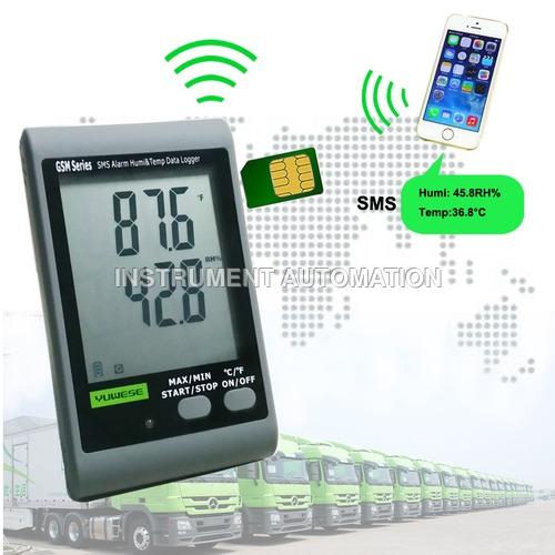 GSM Temperature & Humidity Data Logger