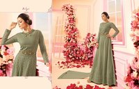 Wedding Anarkali Churidar Suit
