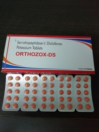 Serratiopeptidase Diclofenac Potassium Tablets