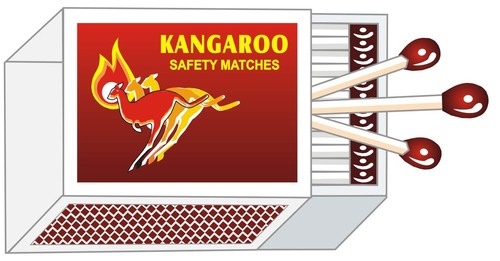 kangaroo Safety Match Sticks