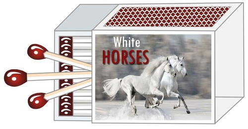 White Horse Safety Matches