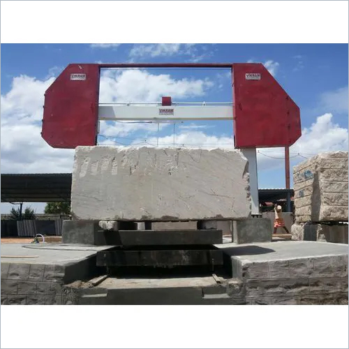 Mono Wire Block Squaring Machine