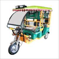 Battery Powered E Rickshaw