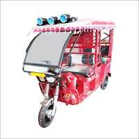 Operated E-Rickshaw