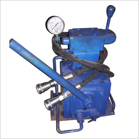 Manual HDPE Hydraulic Power Pack