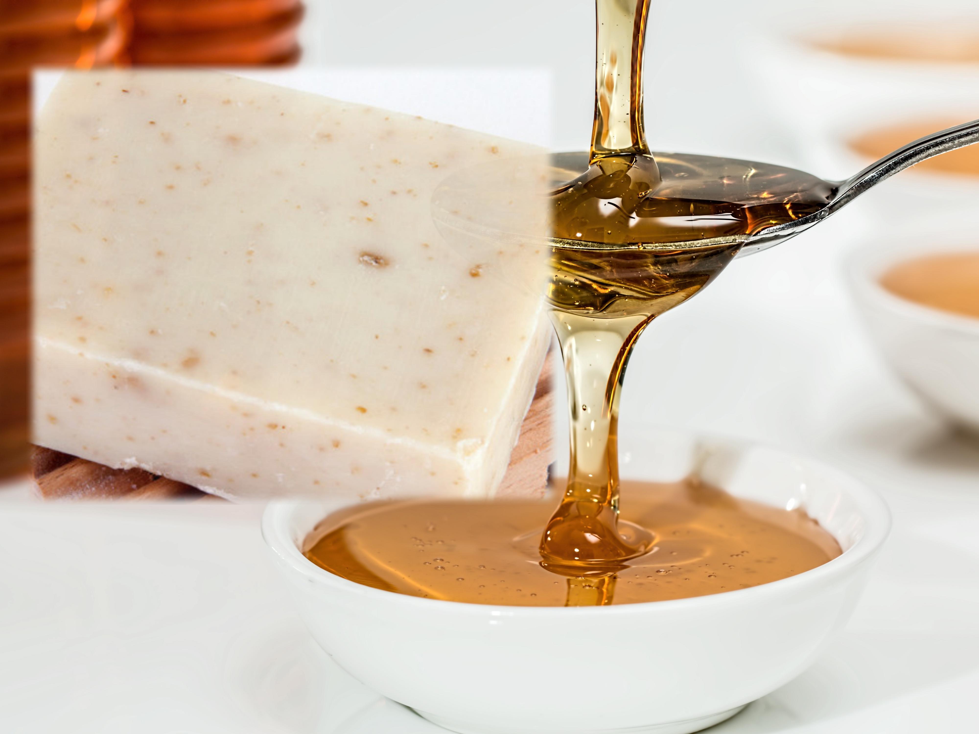 Natural Honey Oatmeal Soap