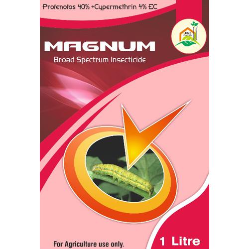 Magnum Broad Spectrum Insecticide Profenofos 40% +Cypermethrin 4% EC