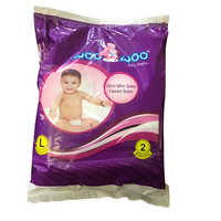 Large 2 Pack Woo Woo Baby Diapers
