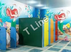 Children Module Toilet Partition