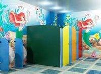 Children Module Toilet Partition