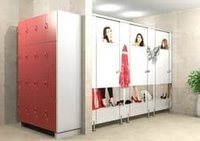 Designer Toilet Cubicle Partition