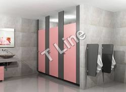 Ceiling Hung Module Toilet Partition