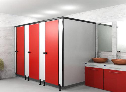 Nylon Classic - Leg type toilet partition