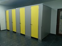 Anti Bacterial Toilet Cubicle Partition