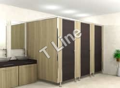 SS Elegant Modular Toilet Partition