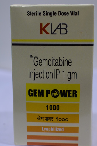Gemcitabine Injection IP 1mg