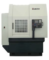 CK518 swing over bed 1000mm vertical CNC lathe machine with high quality