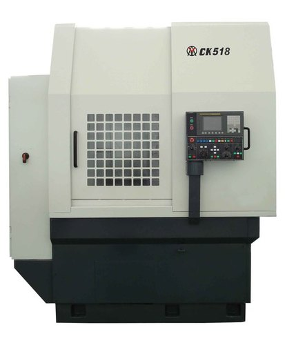 Best brand CK518 spindle bore 200mm vertical cnc lathe machine price