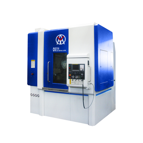 Cheap new swing over bed 520mm vertical cnc lathe machine for sales