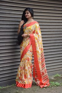 soft Kota cotton sarees