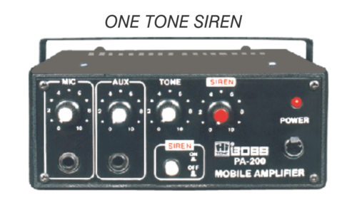 HITONE BOSS PA-200 MOBILE PA AMPLIFIERS