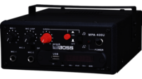 HTIONE BOSS MPA400U Mobile PA AMPLIFIER BUILT-IN PLAYER