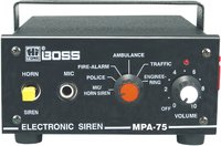HITONE BOSS MPA-75 MOBILE PA AMPLIFIERS