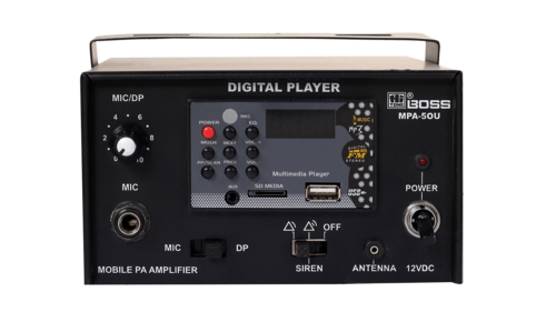 MPA50U Mobile PA AMPLIFIER BUILT-IN PLAYER