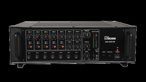 SSA5000EM HIGH POWER PA Mixer AMPLIFIERS