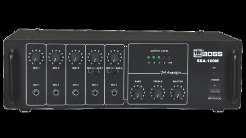 SSA100M MEDIUM POWER PA Mixer AMPLIFIERS