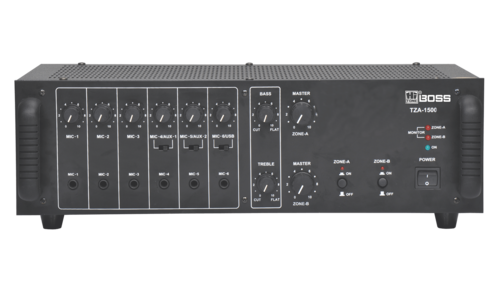 TZA15000 Two Zone PA Power Mixer AMPLIFIERS