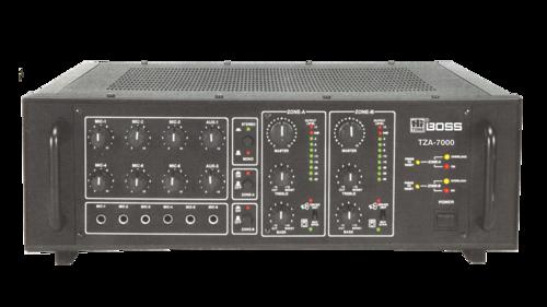 TZA7000 Two Zone PA Power Mixer AMPLIFIERS