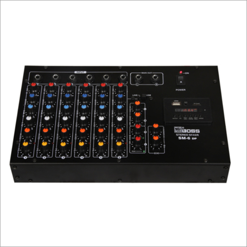 PA AUDIO MIXING CONSOLES - STEREO
