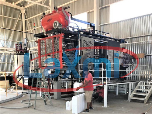 Eps Shape Moulding Machine With Vacuum