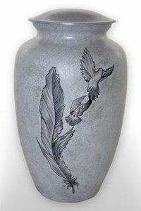 Painting Ceramic Urns