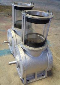 Airlock rotary