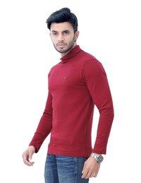 Men's High Neck Full Sleeve T Shirt